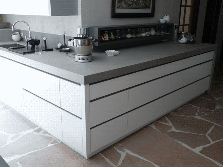 42 best cuisine moderne design contemporain images on pinterest contemporary design oak. Black Bedroom Furniture Sets. Home Design Ideas