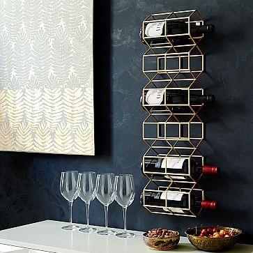 Deco Wine Bottle Rack