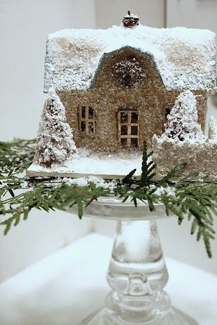 Gingerbread ice house