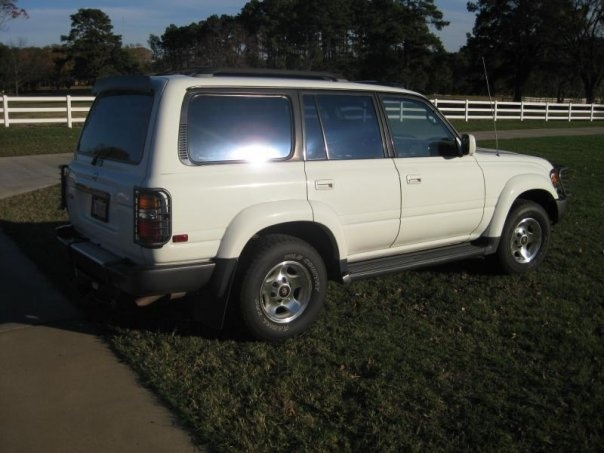 1997 Toyota Landcruiser 4WD with factory lockers