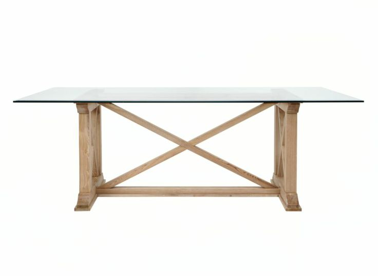 Rencourt Glass Top Rectangular Dining Table Dining  : 37d944e1e88a2849d3eb79244a7d4073 from www.pinterest.com size 736 x 538 jpeg 15kB