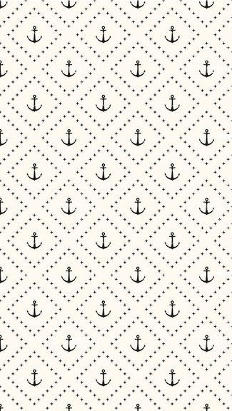 Pattern Of Anchors iPhone 5/5C/5S Wallpaper