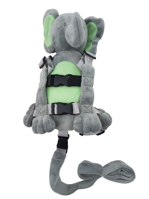 Plush Backpack Animal Harness – ELEPHANT