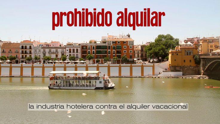 prohibido alquilar. la industria hotelera contra el alquiler vacacional