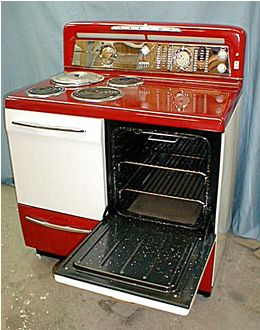 Best Vintage Electric Stoves Images On Pinterest Electric