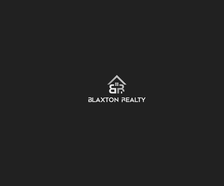 Real Estate Logo Design For BLAXTON REALTY Website Elegant, Serious Logo Design by pawsaints