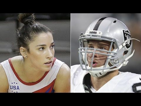 Colton Underwood | Aly Raisman says yes after Raiders' Colton Underwood ...