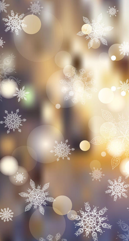 Snowflakes & Bubbles