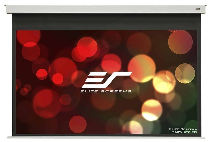 Elite Screens Evanesce B, 100-inch 16-9, Recessed Ceiling In-Ceiling Electric Projection Projector Screen