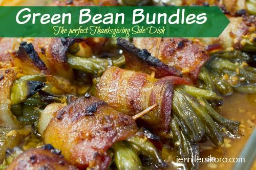 Green Bean Bundles - The Perfect Thanksgiving Side Dish - These are SO scrumptious.
