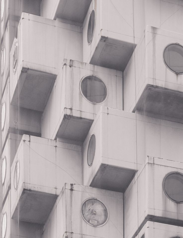 Metabolism in Tokyo | © Jan Vranovsky, 2015 More Nakagin photos here