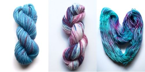 Time for a new Craft Adventure and a short tutorial as well! This week I tested hand dyeing wool yarn in a slow cooker with Wilton's gel food dye and vinegar and the results are gorgeous! This could be a new craft addiction. I wonder how many different effects I can try out with just three colours.