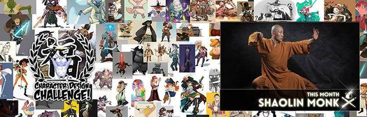 grupos-facebook-creativos-character-design-challenge