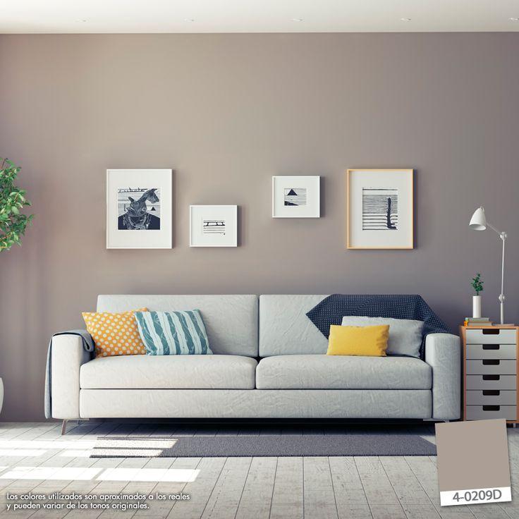 Crear una composición con cuadros es una manera original de decorar tu hogar. #BerelTip