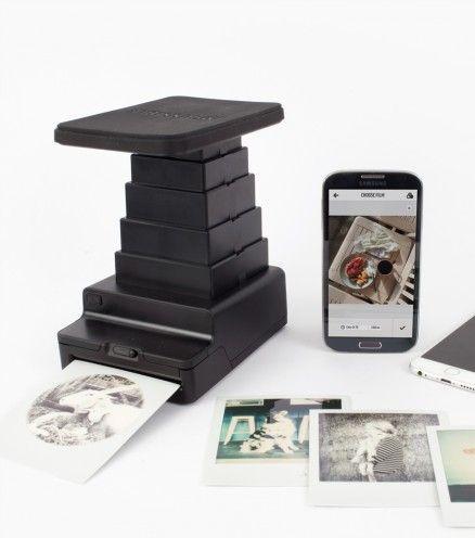 Achetez votre polaroid instant lab et imprimez vos photos en quelques secondes !