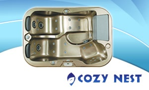 Cozy Nest 24 Jet, 2 Person Hot Tubs 220 Volt and 110 Volt Plug In Version Available $2000
