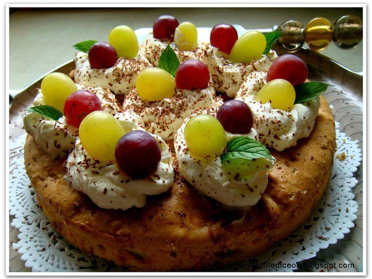 Jesienne ciasto owocowe. - medium