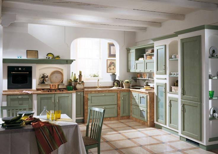 8 migliori immagini cora kitchens su pinterest idee per la cucina cucine italiane e - Cucine scavolini country ...