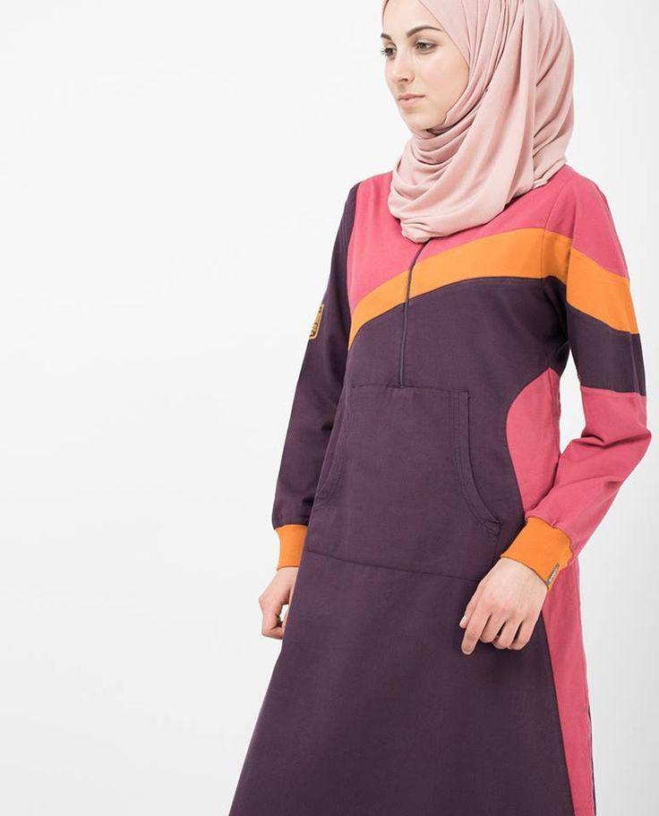 Sunny Stripe Jilbab   SilkRoute   My Online Souk   www.myonlinesouk.co.za