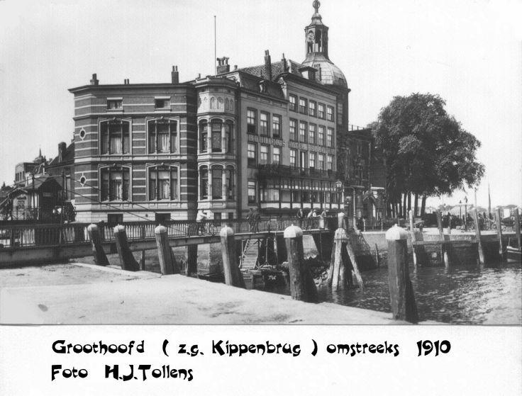 Oud Dordrecht - Groothoofd.