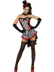 Madame Vamp Moulin Rouge Costume, Burlesque corset, Moulin rouge costume, Burlesque fancy dress costume