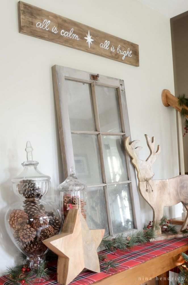 17 best images about nina hendrick christmas ideas on pinterest peppermint bark warm and - Rustic housesbedrooms cosy welcoming ...