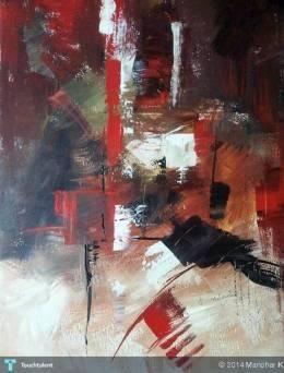 light - Acrylic #Creative #Art #Painting @touchtalent.com