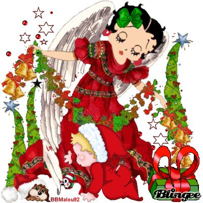 1000+ images about CHRISTMAS WITH BETTY BOOP on Pinterest ...
