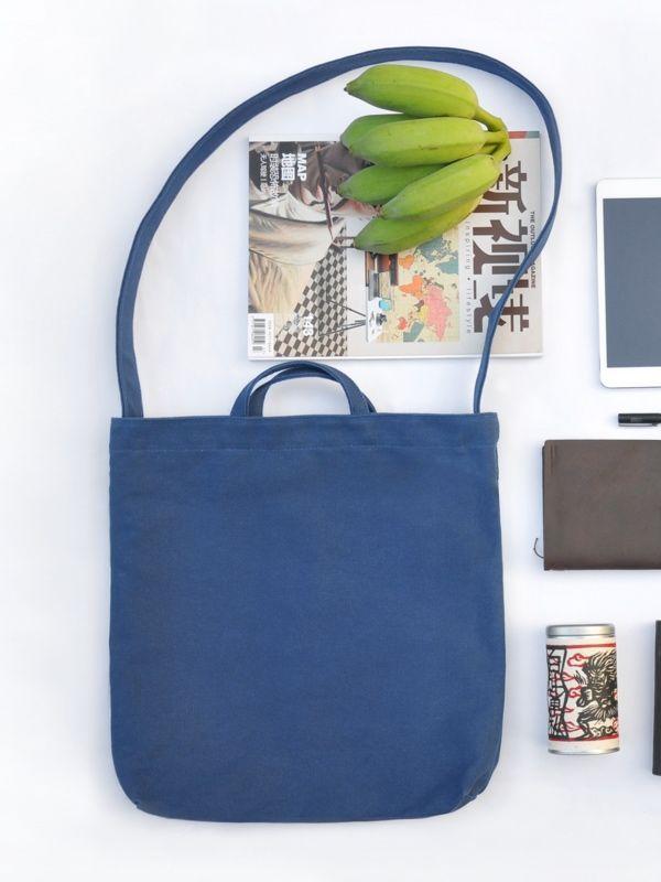 Unisex Canvas Bag – Blue