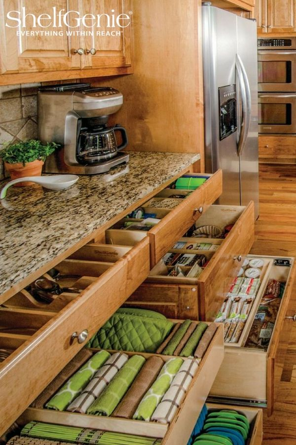 Elegant Add Pull Out Drawers Existing Cabinets
