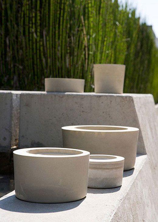 Obleeek Objects outdoor pots garden decoration