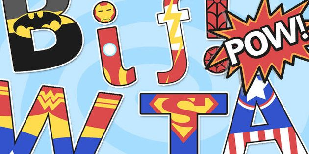 Brilliant Superhero Alphabet Display Letters will make any display AWESOME! - twinkl