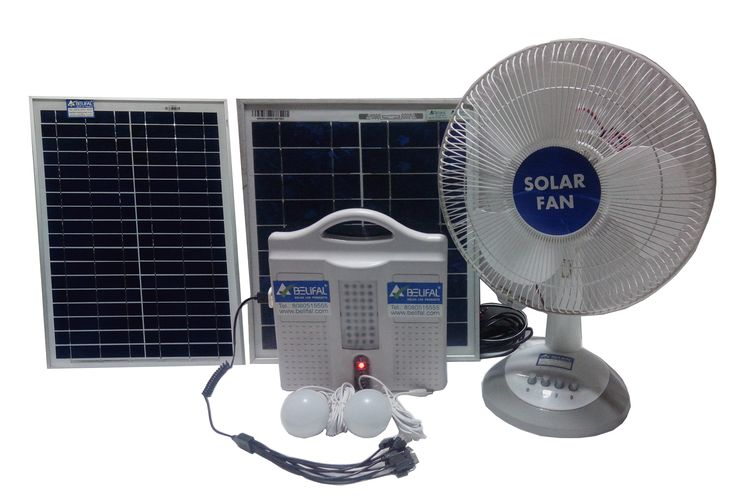 Solar Home Lighting System Dc 12v By Belifal With 2 Led