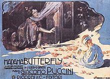 Madama Butterfly - encyclopedia article about Madama Butterfly. Original poster
