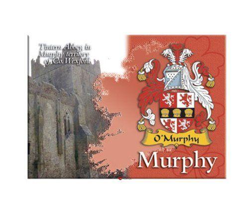 Murphy Clan Metallic Picture Fridge Magnet