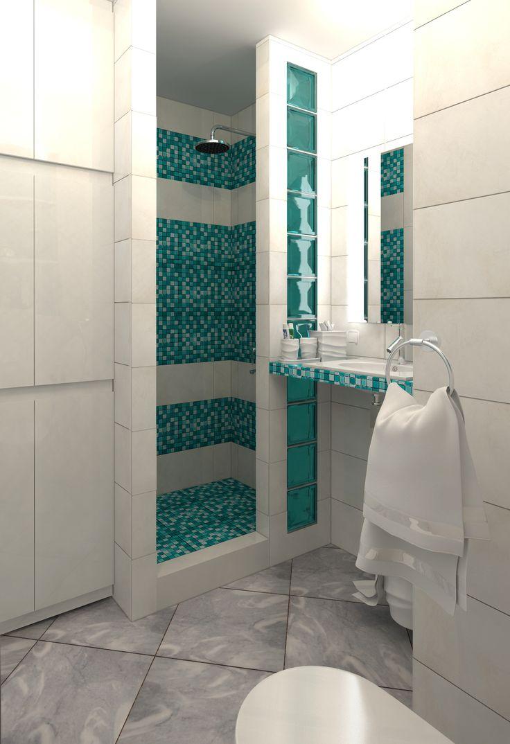 Фото из проекта: «Сочные краски». Дизайн интерьера однокомнатной квартиры (44 кв. м) в Москве в Медведково