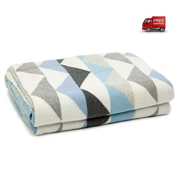 preciouspieces.com.au - D.Lux Ziggy Cotton Knitted Cot Blanket - Pale Blue, $99.95 (http://www.preciouspieces.com.au/d-lux-ziggy-cotton-knitted-cot-blanket-pale-blue/)