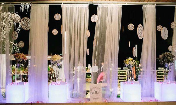 Wedding Lighting and Styling Brisbane - Wedding Events Lighting Brisbane - AVIdeas #drapes