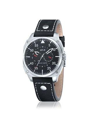 AVI-8 Men's AV-4009-01 Hawker Hunter Black Stainless Steel Watch