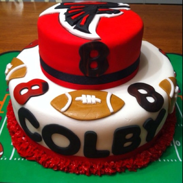 Birthday Ideas, Football Parties And Atlanta Falcons