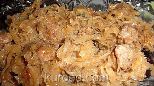 РЕЦЕПТЫ | Свиные ребрышки с тушеной капустой