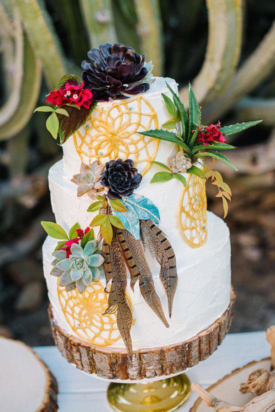 Native American Wedding Cakes