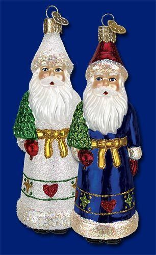 Pennsylvania Dutch Santa - 2 Colors* 40215 Old World Christmas
