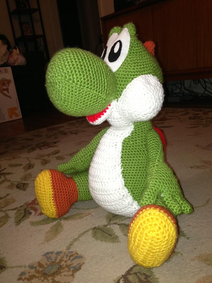 Knitting Pattern Yoshi : Crochet Yoshi. ? ? nounours - amigurumi Pinterest ...