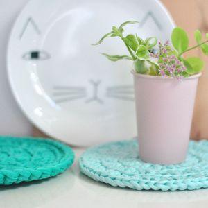Image of Dessous de plat en crochet