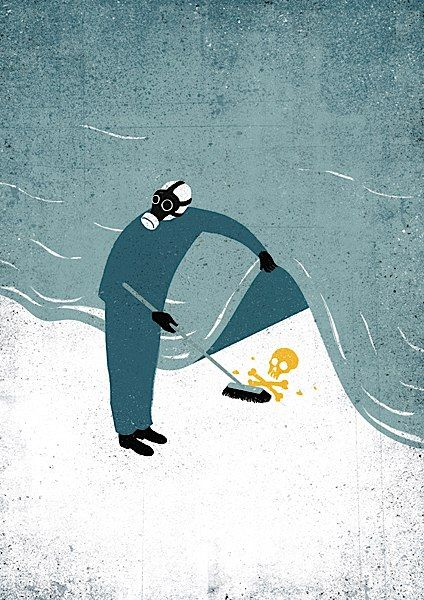 Conceptual Illustrations by Davide Bonazzi  Davide Bonazzi is an illustrator from Bologna Italy. He mixes digital techniques with textures of scanned found objects, in order to give his bold conceptual illustrations a warm and evocative atmosphere. Check them out!