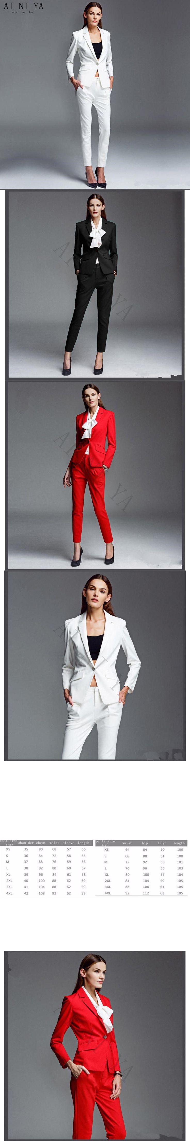 Female Busines s Elegant Pant Suits OL Formal Work Wear Blazer Women Trouser Suit Ladies Office Uniform 2 Piece Set Custom