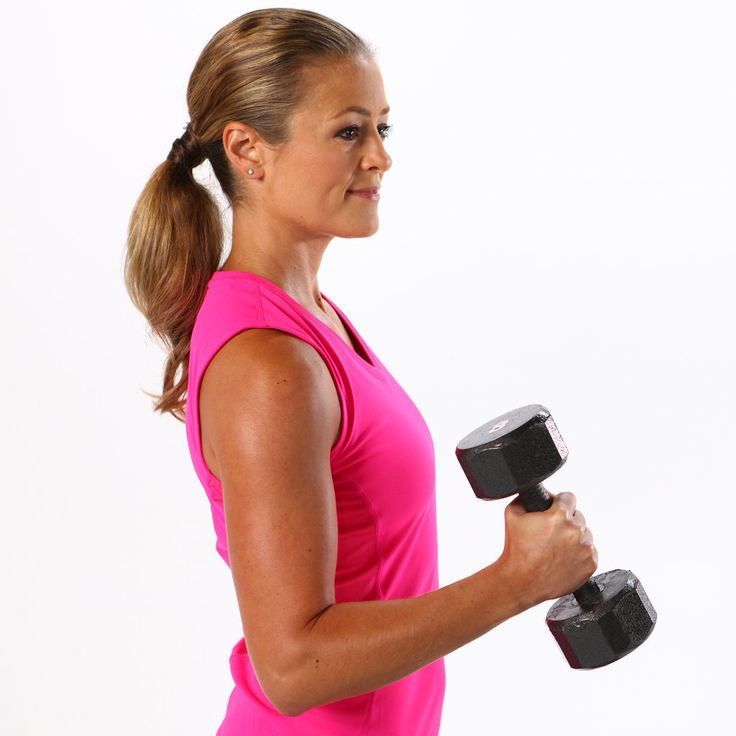 Free Weights 101: Your Beginner-Friendly Arm Workout - Great for switching up a basic arm workout