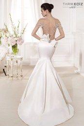 Tarik Ediz свадебные платья с бантом сзади