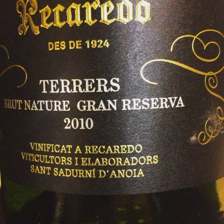 Recaredo Terrers Brut Nature Gran Reserva 2010 (Cava Bio) #vino #cava #eco #bio #organicwine @cava.recaredo  #videocata #uvinum #france